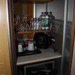 Minibar and room safe