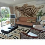  Zebra Apartment lounge and terrace area