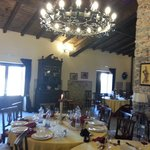  la sala da pranzo