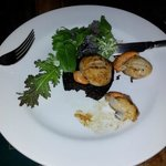 Scallops and Black Pudding, Scallops from the beach