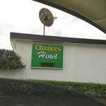 chances hotel new sign