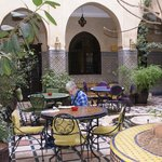 Riad Omar , Patio