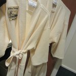  Robes in the bathroom!