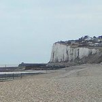  Kingsdown Beach - The White Cliffs
