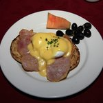 Eggs Benedict Breakfast.