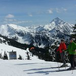  Skiing at Revelstoke Mountain Resort was less than 5 min Drive