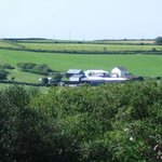Broadpark Breaks B&B - north devon farm, view from Plum room.