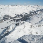  View from top of top cable car terminal, Corvatsch