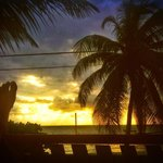  Sunrise from beach front house veranda