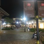  Night view from the main entrance