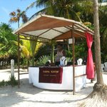  Karla&#39;s booth on West Bay Beach