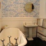 En-suite Bathroom with original roll-top bath