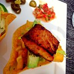 Grouper fish tacos