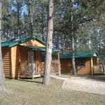 Cabins 2 & 3 are our sleeper cabins with bathrooms