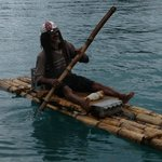Rastaman on raft