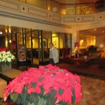  Lobby at Christmas
