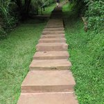  The steps to the Camp test your readiness for a trek
