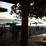  view from SeaBreeze Bar at Divi- Christmas 2012