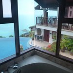 View from the shower in that room