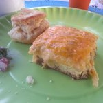  Had to get a pic before I finished my creole egg pie!