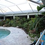  The pool enclosure