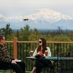  Outdoor deck featuring unbeatable views of Mt McKinley and the Alaska Range
