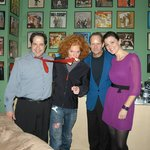 Hangin' in the GREEN ROOM with comedy superstar Carrot Top