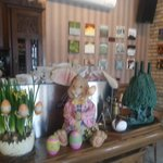  Easter decorations and art exibition