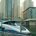  docked at the Dubai Marina