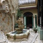 Patio casa David Junior