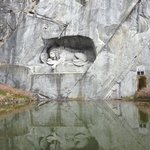  The famous Lion Monument