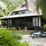  bungalow bord de plage