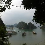View from Halong Bay, simply amazing!!