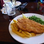  Traditional Fish, Chips, Peas
