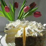 Our delectable Frozen Lemon Torte.