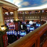 Casino from upper floor