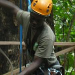 Annavon, our zipline guide