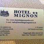 Photo of Mignon Hotel