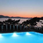 View from the buffet restaurant over Marmaris bay