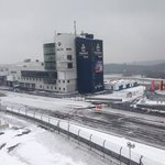  Grand Prix track in the snow