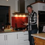  Richard Till, NZ celebrity chef cooking for us.