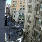  View from room 312 towards the Gran Via