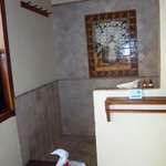  Large walk in shower in casita