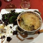 Le canard parmentier. Very nice dish