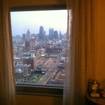 city view from our room