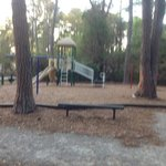 lenora park  is a small quaint fenced-in park for children in Beaufort, SC