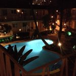 View from Balcony in front of our room