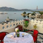 Restaurant with lake view (romance)