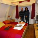  Cynthia with Camillo at Camillo&#39;s CityCenter Bed and Breakfast Amsterdam