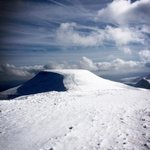View from Corn Du over to Pen-Y-Fan in the snow!!
